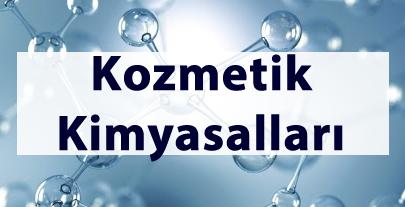 Kozmetik Kimyasalları Ürün Grubu